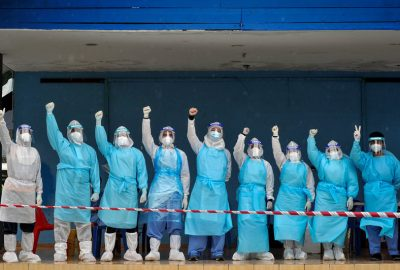 Who Are The Fronliners For This Pandemic?